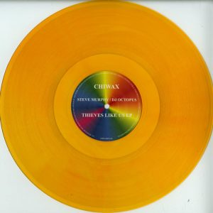 Steve Murphy / DJ Octopus – Thieves like us (clear orange vinyl)