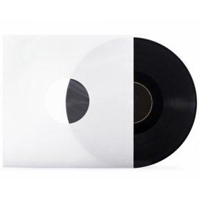 LP inner sleeves  white for 12 inch