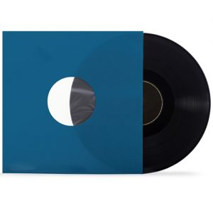 LP inner sleeves blue for 12 inch