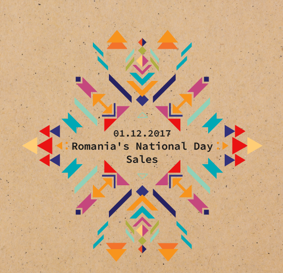 Romania's National Day Sales @ Misbits Record Shop!