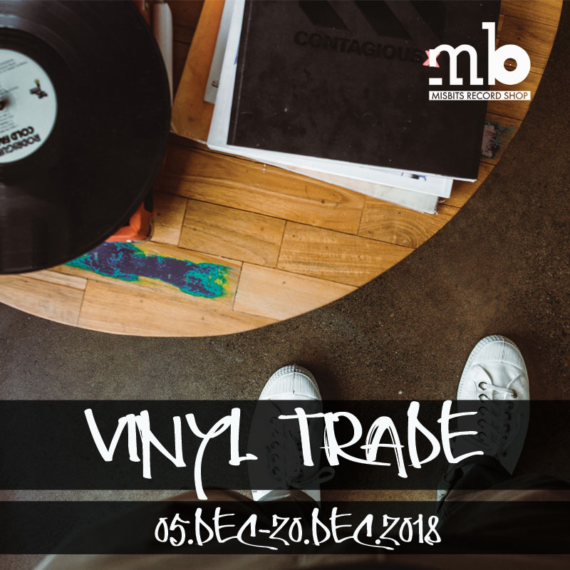 We Want Your Old Records: Vinyl Trade Weeks @ Misbits Record Shop