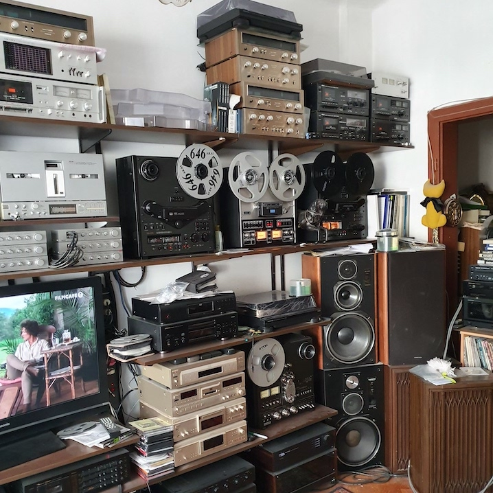 Inside The World Of  Reel To Reel Tape Recorder Collector