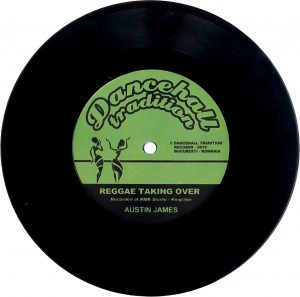 Austin James – Reggae Taking Over 7 inch