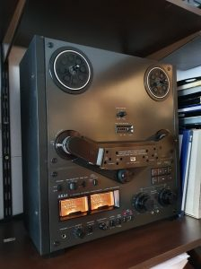 Magnetofon Akai GX-635 Black